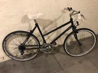 Black ladies hybrid bike cscx