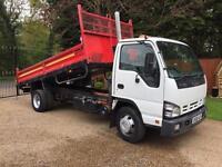 Isuzu Nqr Tipper 7.5 ton easy shift 2008 vgc 1 owner