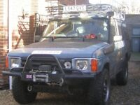 Landrover Discovery 1, 1993, blue, 9 months MOT