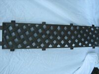 CAST IRON BENCH BACK...offers..