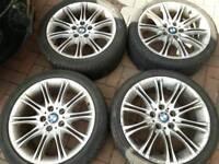 18 inch bmw mv2 alloy wheels pcd 5x120