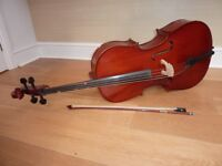 Cello: Stentor II Half size, excellent condition