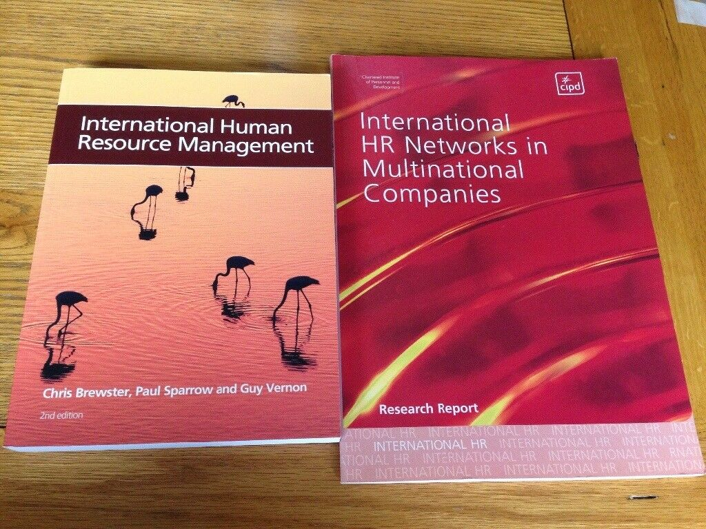 HR books on international HR