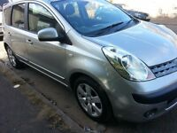 2006..NISSAN NOTE SVE..1 YEAR MOT.1.6L..5DOOR..GOOD SPEC.HALF LEATHER INTERRIOR.56PLATE..FULL VALLET