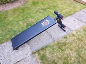 York 250 sit up bench - gym - fitness