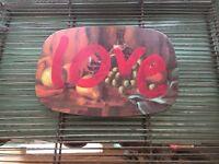 Graffiti love sign