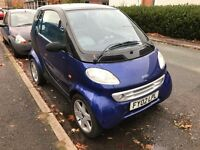 SMART CITY COUPE FORTWO 0.6 AUTOMATIC PETROL SMART & PULSE