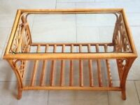 Conservatory Bamboo Coffee Table
