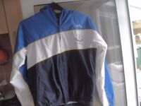 EVERTON FC SPORTS COAT AND TOP SIZE S/M £15 THE LOT