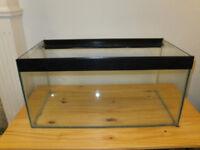 Glass 50 litre fish tank