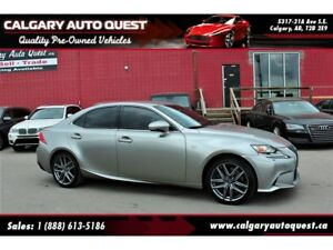 2015 Lexus IS 350 F-SPORT/ALL WHEEL DRIVE/LEATHER