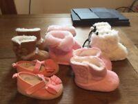 baby girl boot/shoe bundle