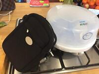Avent steriliser and thermal bag