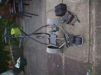 GREEN HILL ELECTRIC GOLF TROLLEY