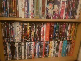 Dvd and blu-ray job lot