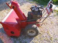 WORK WANTED---(Snow Blower Repair and Maintenance)