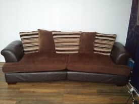 X2 four seater sofa