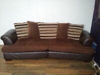 X2 four seater sofa