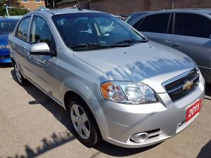 2011 Chevrolet Aveo LT LOW KM ONLY 25K All Power Opts Must See !