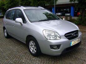 2007 (57) KIA Carens GS CRDI 2.0 Diesel -- 7 Seats ** HPi Clear ** 6 Months Warranty