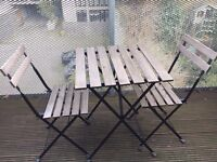 FREE on pick up IKEA small outdoor table and chairs