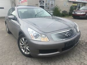 2008 Infiniti G35X Navigation_Backup Camera_Leather_Sunroof