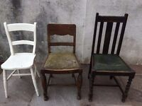 Chairs - kitchen, dining, bars, cafe, vintage, shabby chic - free
