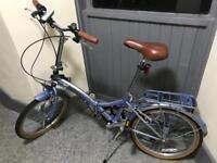 Viking easy street folding bike