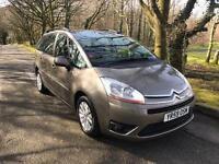 CITROEN C4 PICASSO DIESEL 2009/59 ONLY 57,000 MILES 7 SEATER***