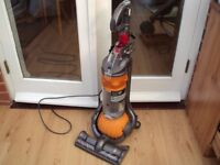 DYSON DC 24 YELLOW BALL EXCELLENT CONDITION AND STRONG SUCTION,UNIVERSAL TOOL NEW BRUSH HEAD MOTOR