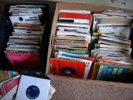 Single vinyls joblot