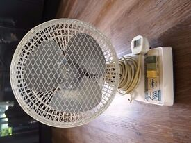"Electric MICROMARK 7"" OSCILLATING FAN"