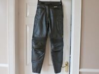 ladies akito leather trousers