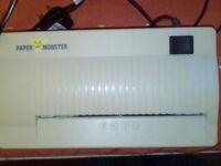Electronic Paper Shredder