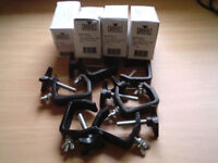 Disco leads, clamps etc