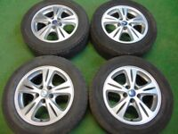 """FORD GALAXY, FOCUS ST, MONDEO, C-MAX, S-MAX, TRANSIT CONNECT 16"""" ALLOY WHEELS"""
