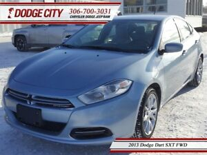 2013 Dodge Dart SXT | FWD - Security Alarm, Premium Cloth