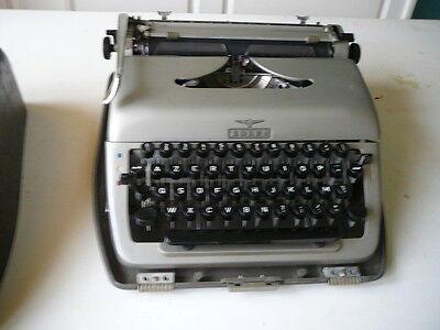 máquina de escribir Adler portátiles vintage máquina de escribir