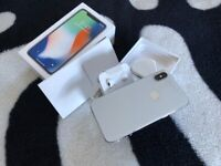 iPhone X - 64GB - Silver (O2) New