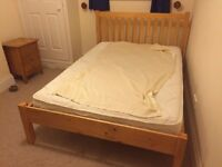Wooden Double Bed - Great Condition