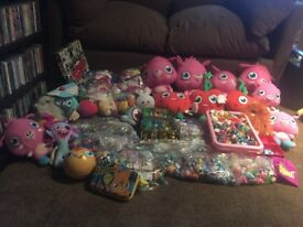 MOSHI MONSTERS ULTIMATE JOBLOT OF FIGURES & TOYS!!