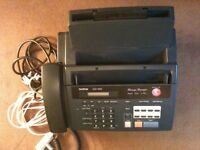BROTHER FAX 930 PHONE ETC