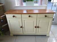 Solid Wooden Pine Sideboard