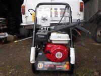 New petrol power washer