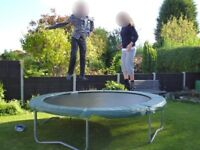 12 Foot Diameter Trampoline with Sides