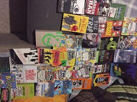 Books £3/each book