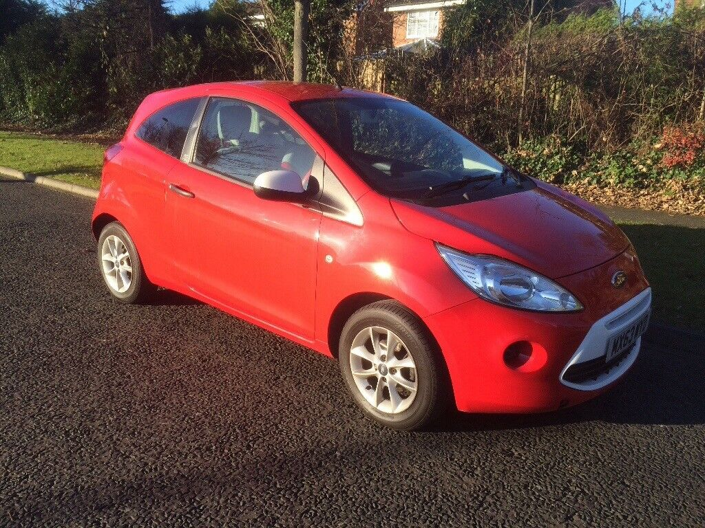 2013 63 FORD KA 1.2 STUDIO CONNECT LOW MILES £30 PER YEAR ROAD TAX
