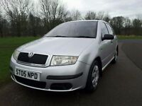 SKODA FABIA 1.2 CLASSIC, 2005. 84,531 MILES, SERVICE HISTORY, MOT UNTIL OCTOBER. AN IDEAL FIRST CAR.