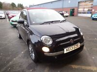 FIAT 500 1.2 LOUNGE 2DR [START STOP] (black) 2013