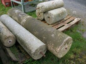 "granite rollers av 6ft x 12"" diameter lots available"
